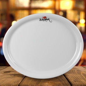 Prato oval iguaçu 30 cm