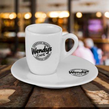 Xicara café com pires 65 ml paris