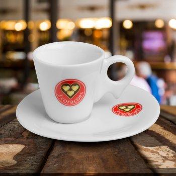 Xicara café com pires 65 ml dinamarca